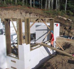 Insulated Concrete Forms House Building Blog