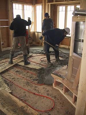 In Floor Heating House Building Blog