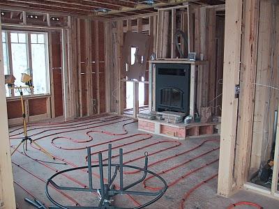 In Floor Heatinghouse Building Blog
