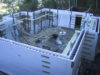 Insulated Concrete FormsHouse Building Blog