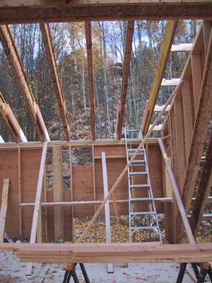 Roof framing house building blog for Roof framing cost