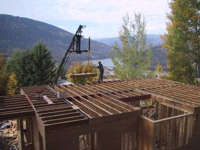 Wall framing house building blog for How to build a 2nd story floor