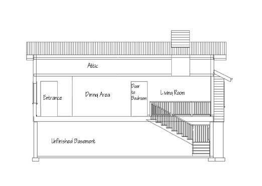 House Plan Cross Section
