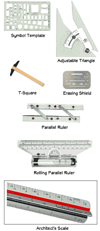 Drafting Tools Png