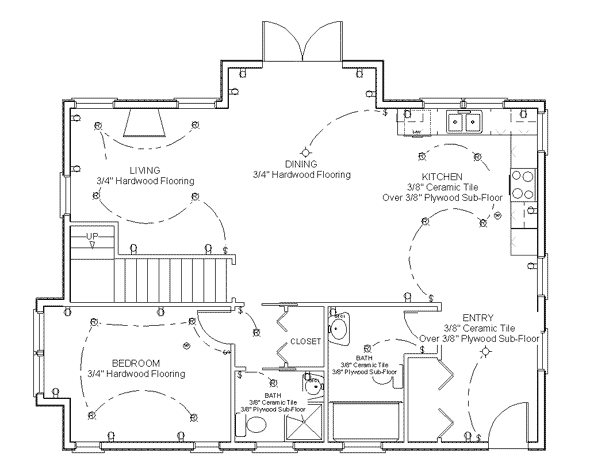 Make your own blueprint how to draw floor plans Home plan drawing