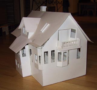 Building architectural models 3d house models Make home design
