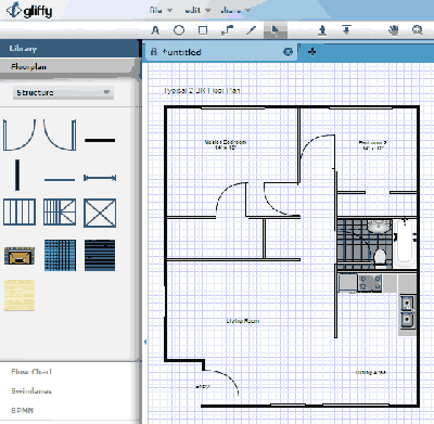 gliffy home design software - Home Design Blueprint