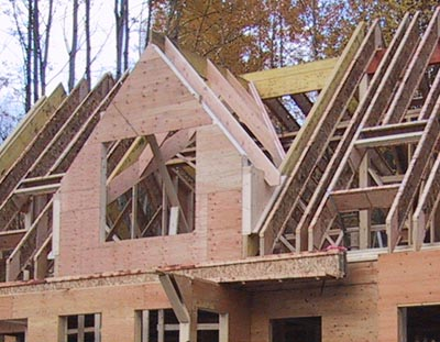 Roof framing house building blog for Home building blog