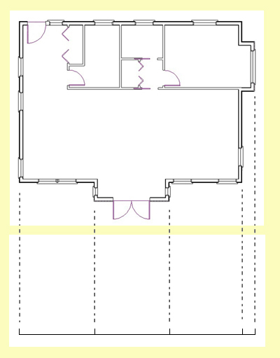 Plan Elevation Label : How to draw elevations